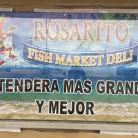Photo taken at Rosaritos Fish Market Deli by Dennis C. on 8/2/2017