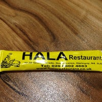 10/31/2016 tarihinde Cigdem Yalcinziyaretçi tarafından Hala Restaurant'de çekilen fotoğraf