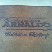 Photo taken at Churrascaria do Arnaldo by Daniel Cabral on 2/18/2013