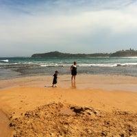 Photo taken at Mona Vale Beach by Simon T. on 12/23/2012