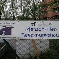 Photo taken at Mensch-Tier-Begegnungshaus by DerBär @. on 4/27/2013