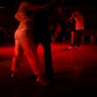 Photo taken at La Viruta Tango Club by Celeste G. on 12/17/2012