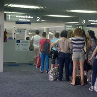 Photo taken at Krabi International Airport (KBV) by Ida L. on 1/20/2013