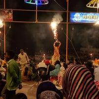 Photo taken at Dasaswamedh Ghat by Abdullah A. on 11/29/2017