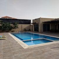 Photo taken at Dead Sea Beach (Holiday Inn Resort) by Abdullah A. on 4/5/2018