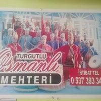 Photo taken at turgutlu osmanlı mehteri by Izzet S. on 5/30/2014