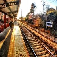 Photo taken at LIRR - Manhasset Station by John H. on 12/19/2012