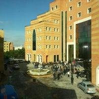 Photo taken at Yeditepe University by Zeynep M. on 2/12/2013