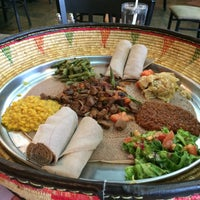Photo taken at Habesha Restaurant and Bar by V!cT0r on 1/27/2016