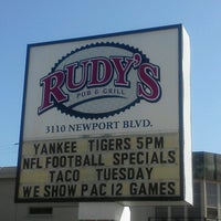 Photo taken at Rudy's Pub and Grill by David M. on 10/16/2012