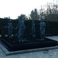 Photo taken at Cerritos Sculpture Garden by G S. on 1/28/2013