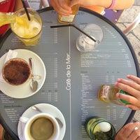 Photo taken at Café de la Mer by Michael W. on 7/31/2013