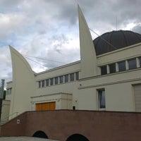 Photo taken at Grande Mosquée de Strasbourg by Bedia on 5/9/2014