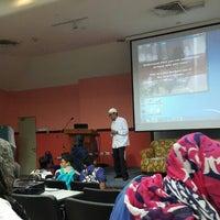 Photo taken at Mini Auditorium by Mohd Amiruz Dzaki M. on 3/13/2016