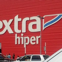 Photo taken at Hipermercado Extra by Fábio Roberto O. on 2/9/2013