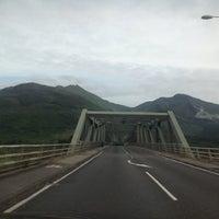 Photo taken at Ballachulish Bridge by Vito G. on 7/28/2013