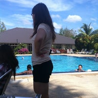 Photo taken at Bella Vista Swimming Pool by teck meng on 2/15/2013