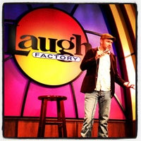 Photo taken at Laugh Factory by Dr. Steve W. on 9/14/2013
