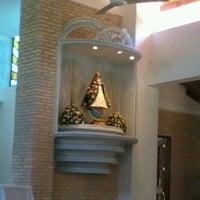 Photo taken at Santuario de la Virgen de Caacupé by Augusto M. on 12/9/2012