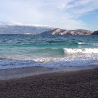 Photo taken at Baška Beach by Davis D. on 9/20/2015