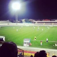 Photo taken at Stadio Velodromo Rino Mercante by Andrea Z. on 4/18/2013