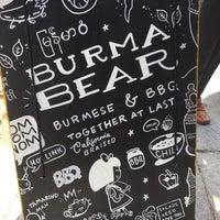 Снимок сделан в Burma Bear пользователем Angie C. 8/16/2017