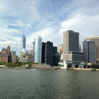 Photo taken at Staten Island Ferry Boat - John A. Noble by Laura S. on 7/24/2013