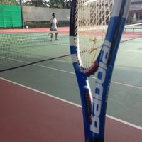 Photo taken at Văn Thánh Tennis Court by Son P. on 3/17/2013