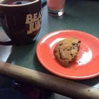 Photo taken at Bean Juice Coffee Roasters by Trevor W. on 3/5/2014