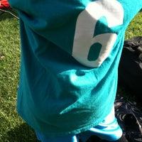 Photo taken at Menasha Soccer Club by Ashley M. on 7/10/2013
