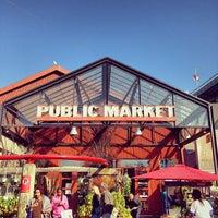 Photo taken at Granville Island Public Market by v d. on 10/13/2013