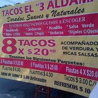 Photo taken at Tacos el 3 aldama by Doraly S. on 4/30/2013