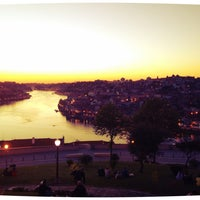 Photo taken at Jardim do Morro by Rafael P. on 4/19/2013