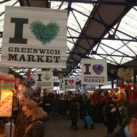Photo taken at Greenwich Market by Ankit G. on 2/3/2013