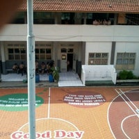 Photo taken at SMA Kartika Siliwangi 1 Bandung by Zahra T. on 12/6/2012