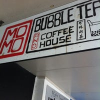 Photo taken at Momo Bubble Tea and Coffee House by Stanley L. on 12/18/2013