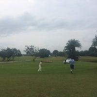 Photo taken at lakowe lakes golfcourt by Stanley G. on 9/7/2014
