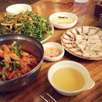 Photo taken at 장비빔국수와 편육 by Soohyun P. on 10/9/2013