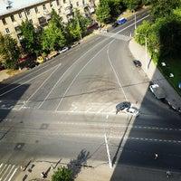 Photo taken at Остановка «Федеративный проспект» by Roman T. on 7/12/2013