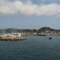 Photo taken at Porquerolles by Frédéric C. on 6/30/2016