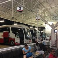 Photo taken at Terminal de Autobuses ADO by Nancy B. on 3/27/2013