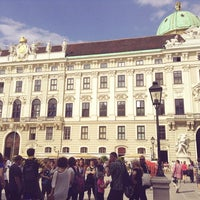 Photo taken at Hofburg by Gozde C. on 7/13/2013