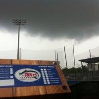 Photo taken at Lee-Hines Field by Matthew J. on 4/30/2013