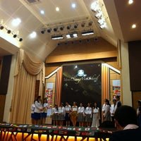 Photo taken at Varee International Auditorium by Jom-apin S. on 12/4/2014