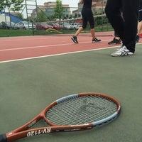 Photo taken at Okan Universitesi Tenis Kortu by Yeşim T. on 5/13/2016