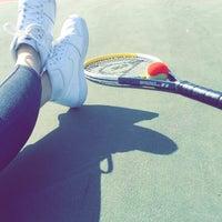 Photo taken at Okan Universitesi Tenis Kortu by Yeşim T. on 3/30/2016