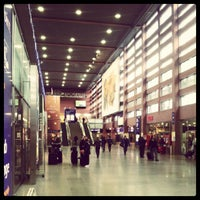 Photo taken at Innsbruck Hauptbahnhof by Vytautas on 1/3/2013
