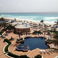 Photo taken at The Ritz-Carlton, Cancun by Nina on 6/22/2013