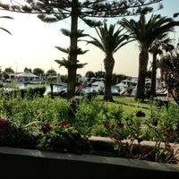7/14/2013 tarihinde Anastasia V.ziyaretçi tarafından Sheraton Rhodes Resort'de çekilen fotoğraf