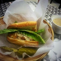 Photo taken at Rae's Gourmet Catering & Sandwich Shoppe by Jessica W. on 8/21/2014